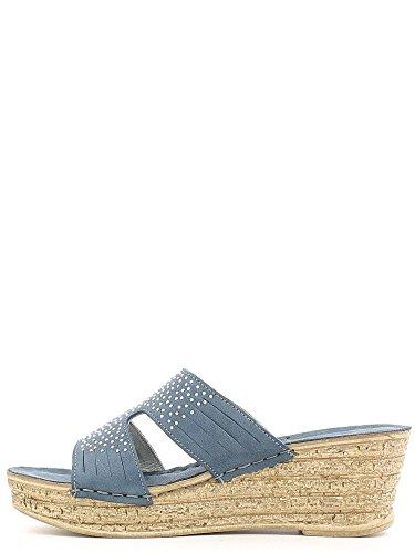 GRUNLAND , Sandales pour femme Bleu - Blu