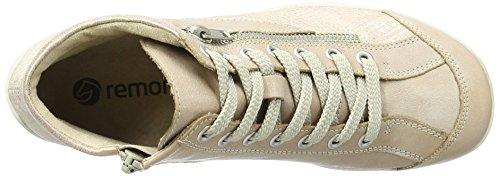 Remonte R3462, Sneakers Hautes Femme, 36 EU Rose (Whitenude/lightrose-silver/rose / 31)