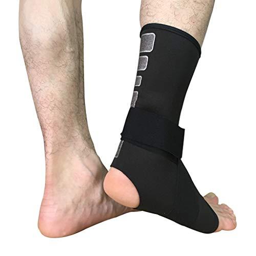Plttey calzini sportivi,supporto per la caviglia di sicurezza sportiva bendaggio alla caviglia protezione elastica del tutore piede di supporto fitness calzini