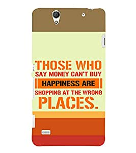 ifasho Designer Back Case Cover for Sony Xperia C4 Dual :: Sony Xperia C4 Dual E5333 E5343 E5363 (Shopping At Wrong Places)