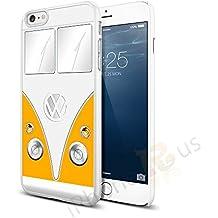Volkswagen Camper Van Snap-on Hard Back Case para Apple iPhone 66S por iPhone R Us®, amarillo, Apple iPhone 6 6s