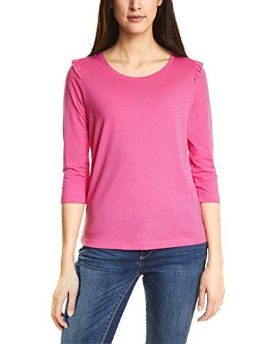 (Street One Damen Langarmshirt 311920, Rosa (Flamingo Pink 11272), 38)