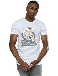 b838b0a4e Absolute Cult Tom and Jerry Hombre Baseball Caps Camiseta
