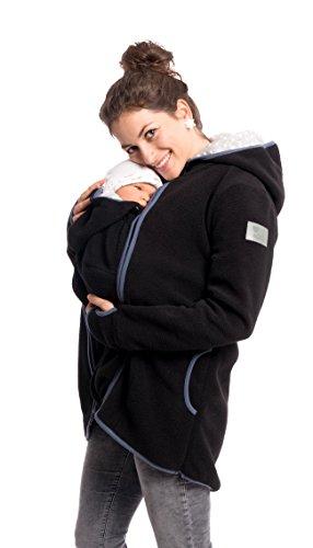 Viva la Mama Umstandsjacke mit Baby Trageeinsatz Regenjacke