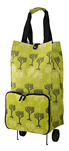 Ulster Weavers Collapsable Space Saving Shopping Trolley Bag in Trees Design 9TRS01 by Ulster Weavers