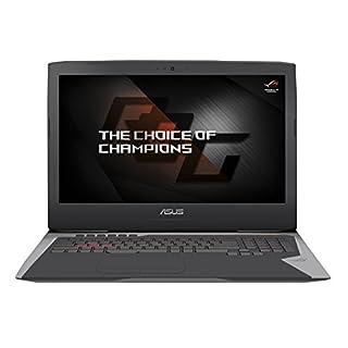 Asus G752VS-GC086T Laptop (core_i7 1000, 16 NVIDIA GTX 1070M, Win 10 Home) grau