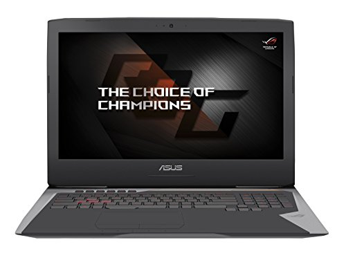 Asus G752VS-GC086T Laptop (core_i7 1000, 16 NVIDIA GTX 1070M, Win 10 Home) grau