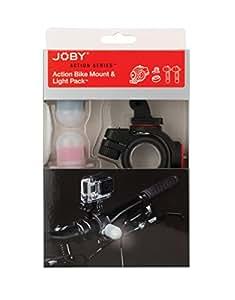 Joby Pacchetto Fissaggio a Manubrio e Light Pack, Nero/Rosso