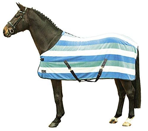 HKM-Fashion Stripes-Coperta per Cavallo con Croce Tracolla, M