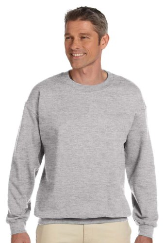 Herren Ultimate Fleece Crewneck Sweatshirt, Leichter Stahl, Medium (Stahl-crewneck)