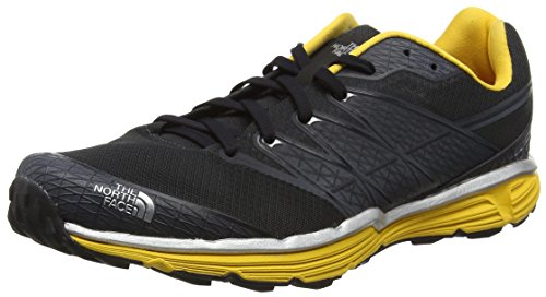The North Face M Litewave TR Zapatillas de running, Hombre, GRIS - GREY (PHANTOM GREY/TNF YELLOW _ GSS), 40 1/2