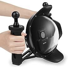 SHOOT Subacuática Cúpula 6 Pulgadas Dome con Carcasa y Handheld Estabilizador para GoPro Hero 3+