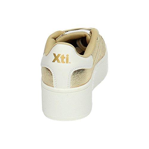 XTI, Scarpe indoor multisport donna Oro