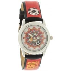 EGG - 4042509 DDP Children's Watch Analogue Quartz Black Dial Rubber Strap