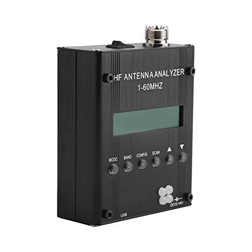 Ham Antenna Analyzer, Asixx Antennenanalysator Ham Radio MR300 Kurzwellen-Antennenmessgerät Meter Tester 1-60M für Ham Radio Meter Ham Radio