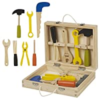 URBN Toys 8pc Wooden Mini Tool Box