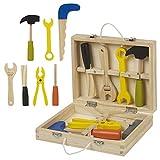 URBN Toys 8pc Wooden Mini Tool Box