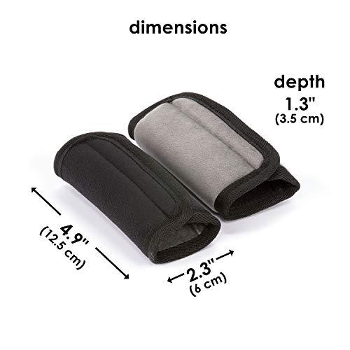 Diono 60250 Soft Wraps, Autositze Zubehör, schwarz - 6