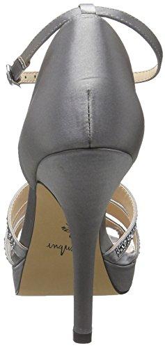 Menbur - Noguera, Sandalias De Mujer Gris (gris (gris))
