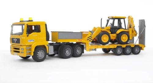Bruder 02776 - Camion MAN TGA Bilico con Scavatore JCB...