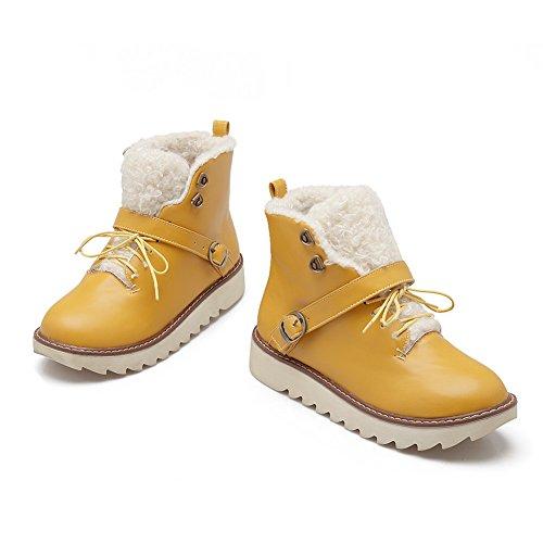 1TO9 - Stivali da Neve donna Yellow