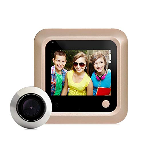 Leoboone X5 2.4 Inch TFT Color Screen Display Home Smart Doorbell Security Door Peephole Camera Electronic Cat Eye - Home Security Doors Screen
