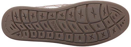 Bobs De Skechers Bobs mondiale Slip-on Flat Taupe Lace