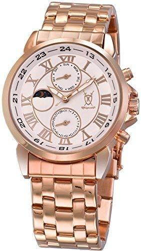Konigswerk Herren Uhr Analog Quarz mit Metall Armband AQ202461G