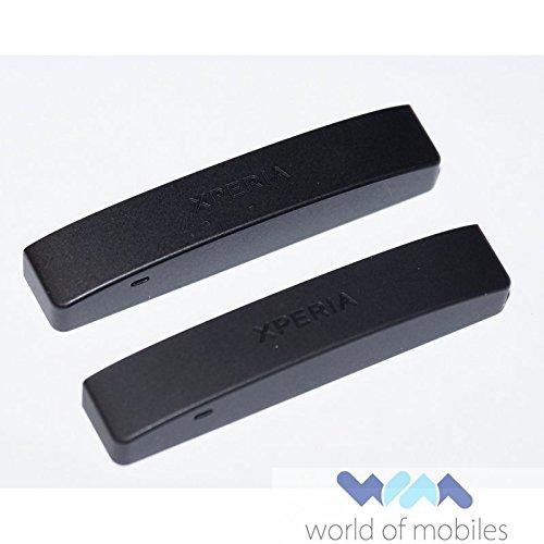 Sony Xperia P LT22i Cap Cosmetic cap assy Black Original