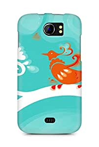 Amez designer printed 3d premium high quality back case cover for Micromax Canvas 2 A110 (Cool )
