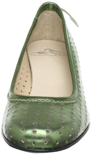 Diavolezza SARA 6065, Scarpe col tacco donna Verde (Grün (Green))