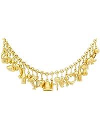Carissima Gold Damen-Erbskette 375 Gelbgold 46 cm - 1.14.3544