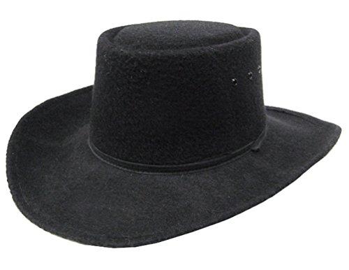 modestone-unisex-gambler-faux-felt-cowboy-hut-ribbon-hatband-size57-black