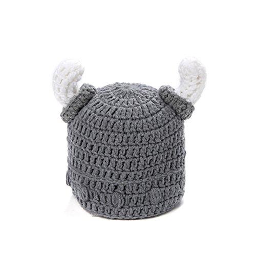 Mütze Gap Handgefertigt aus Häkeln Wikinger - Mütze (Baby Gap Halloween)
