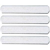 BESPORTBLE Placas de Acero de 4 Piezas para Placas de Entrenamiento de Fuerza de Chaleco Ponderado para Ejercicio Físico