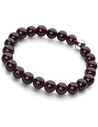 Lucky Beads Armband (Granat)