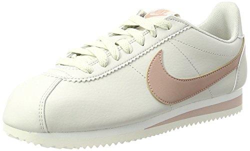 Wmns Classic Cortez Se, Zapatillas de Gimnasia para Mujer, Verde (Neutral Olive/Neutral Olive/MT 203), 41 EU Nike