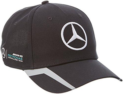 Mercedes AMG Petronas Hombre Mercedes AMG Team Cap 2016Black Tapa, N
