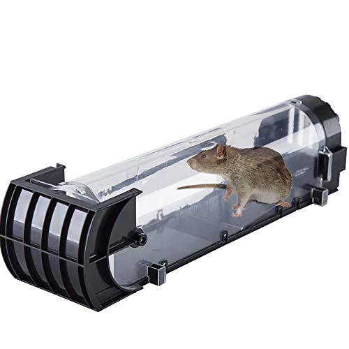 Mouse Trap Defenders Animal Trap Rodent Mouses Mouse Trap Live Cage Trap Reusable Snap Traps Humane, Easy to Bait and Set (Defender Mouse)