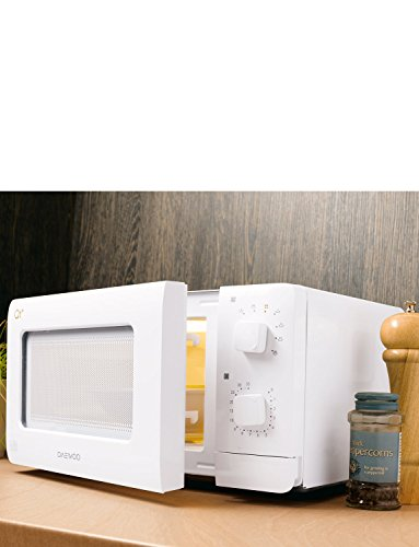 Daewoo Compact Microwave Oven, 14 L, 600 W – White