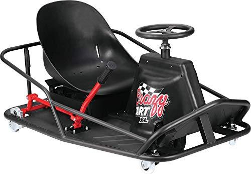 Razor Crazy Cart XL Elektroscooter, Schwarz, One Size