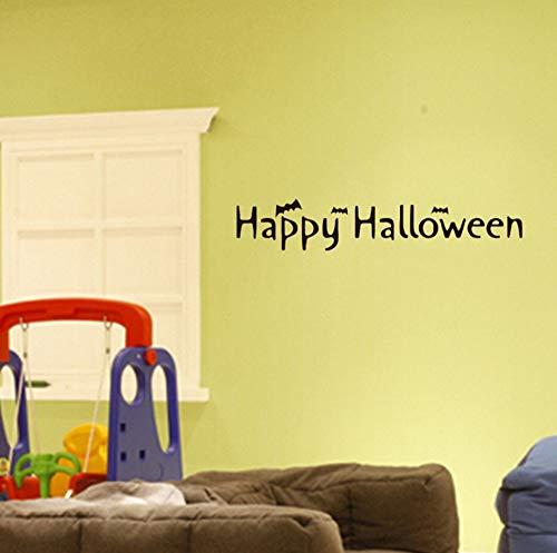 Sgbfz Tapete Happy Halloween Hintergrund Wandaufkleber Fenster Home Decoration Aufkleber Dekor