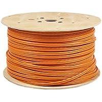 50m Duplex CAT.7 Verlegekabel Gigabit 10Gbit Netzwerkkabel CAT.7 1000Mhz SFTP S/FTP CAT7 Netwerkkabel Installationskabel PIMF CAT.7 Kabel CAT7 Netzwerk Verkabelung 50m Duplex LAN Kabel Datenkabel CAT7 4x2xAWG23/1 , orange 50 m CAT 7 CAT.7 CAT7 Netzwerkkabel Gigabit 10/100/1'000/10'000 MBit zum Anschluß an Patchpanel , Netzwerkdosen und andere