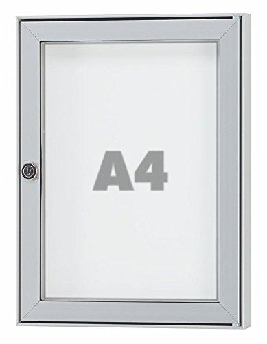 Preisvergleich Produktbild Schaukasten TESUS - wetterfester Schaukasten für den Außenbereich - div. Größen von 1 x DIN A4 bis 16 x DIN A4