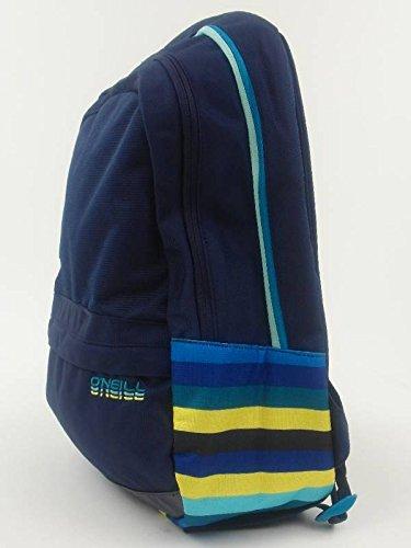 O 'Neill Mochila Backpack 22L Sands Azul Oscuro rayas portador 304006–Sands