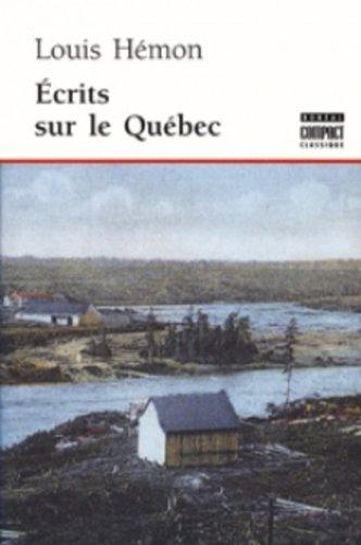 Ecrits sur le Québec