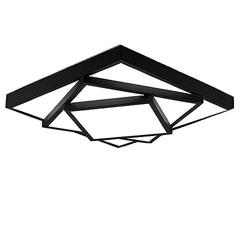 Modernes Design Drei Schichten Überlagert Platz Deckenleuchten Künstlerisches Design Innenleuchte LED Deckenleuchte IP20 15,75 Zoll