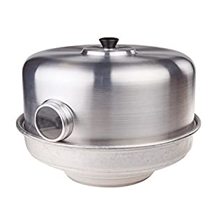 Pentole Agnelli Family Cooking Aluminium Bake - Stove With Eye, Diameter 30 Cm.