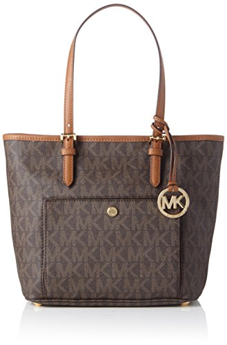 Michael Kors Jet Set 30S6GTTT8B 26,5x 24,5x 13,5 cm (B x H x T), Colore Marrone (Brown 200)