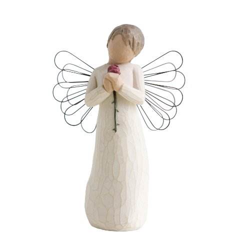 Willow Tree 26080 Engel der Liebe Figur, 13,5 cm (Holz-engel-figuren)